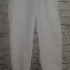 Baby Gap Size 3T Girl's White Sweatpants